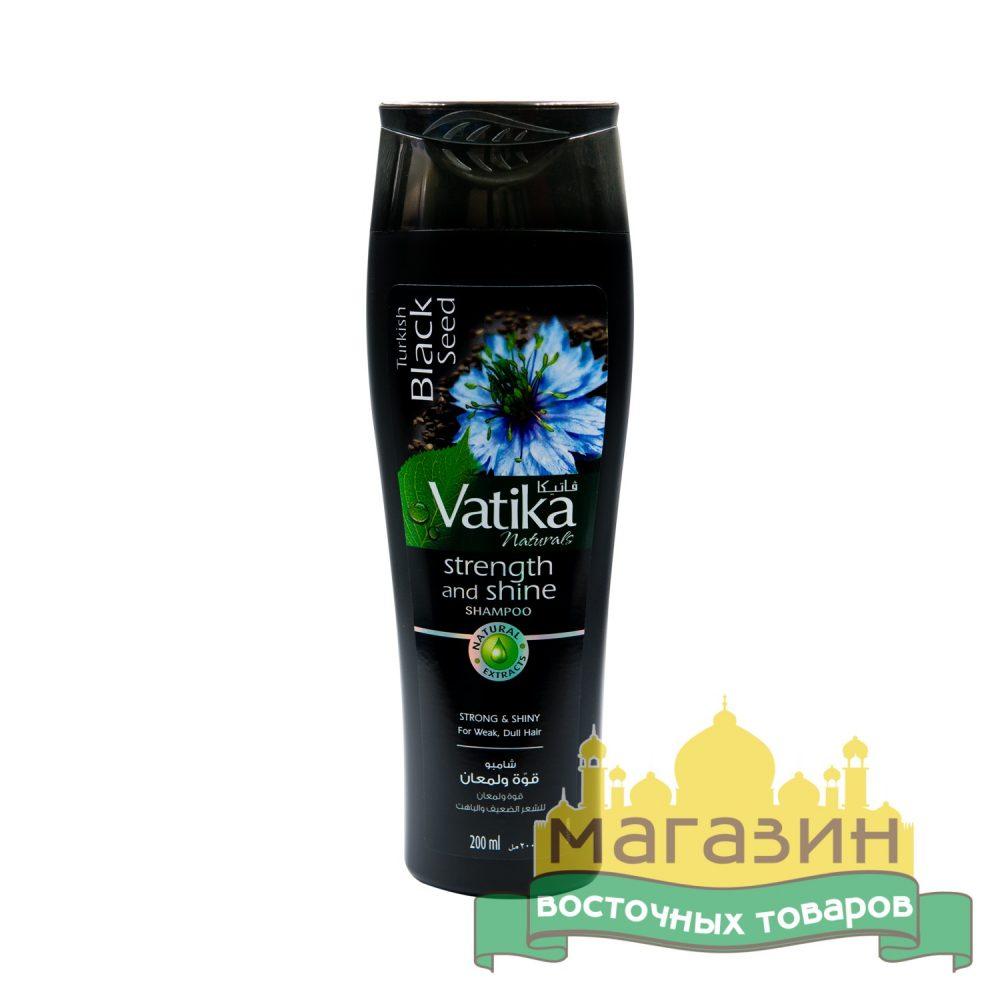 Шампунь Dabur Vatika с черным тмином