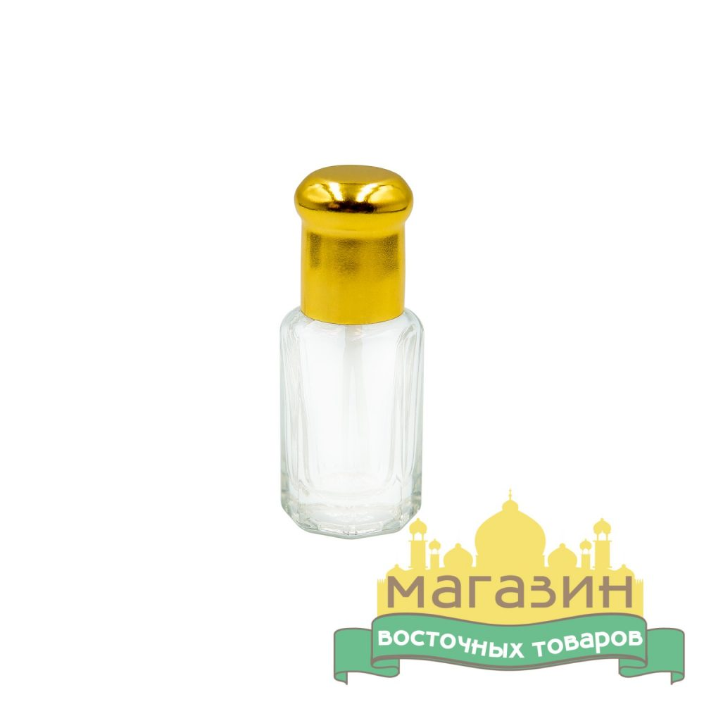 Флакон с палочкой стеклянный (6мл)