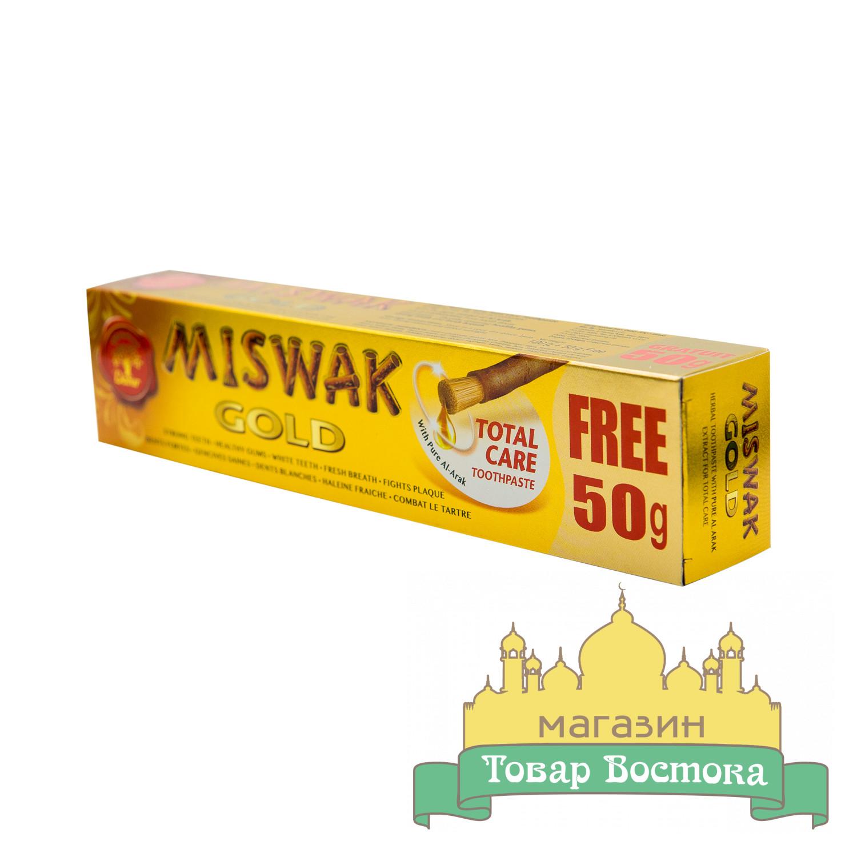 Зубная паста Мисвак Голд Miswak Gold, Dabur (170 г)