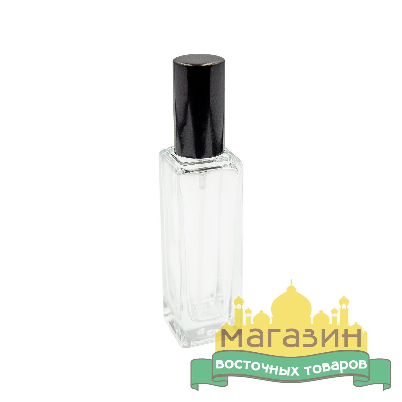 Флакон-спрей стеклянный (15мл) черный