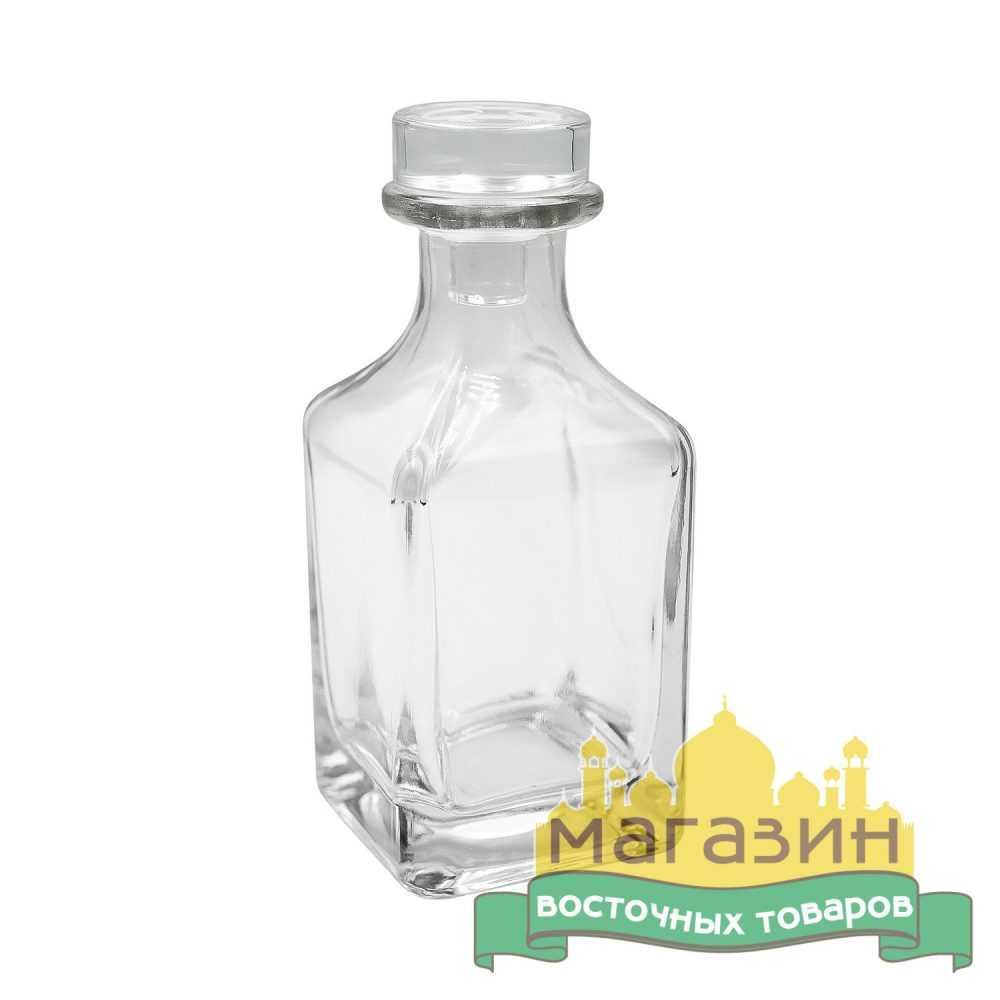 Графин для духов стеклянный 150 мл