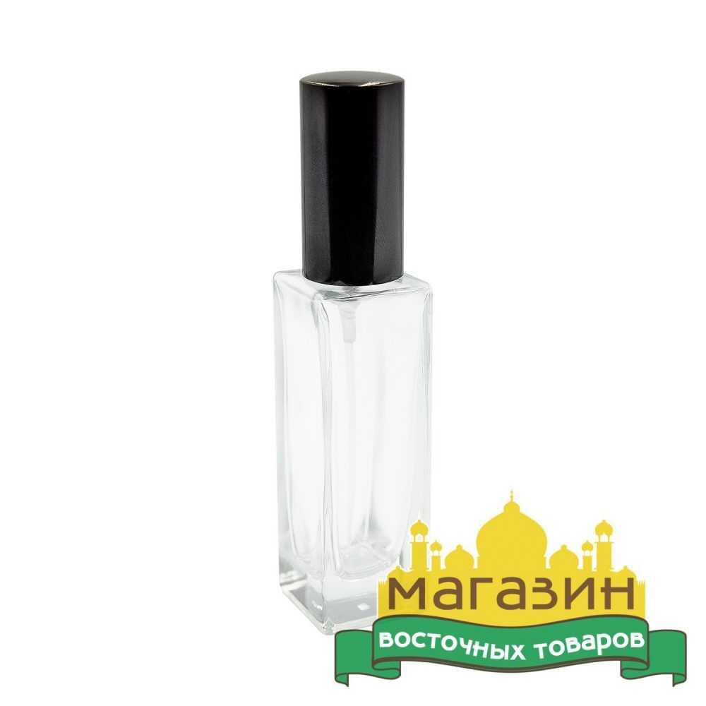 Тара для парфюма стеклянная (30мл) черная