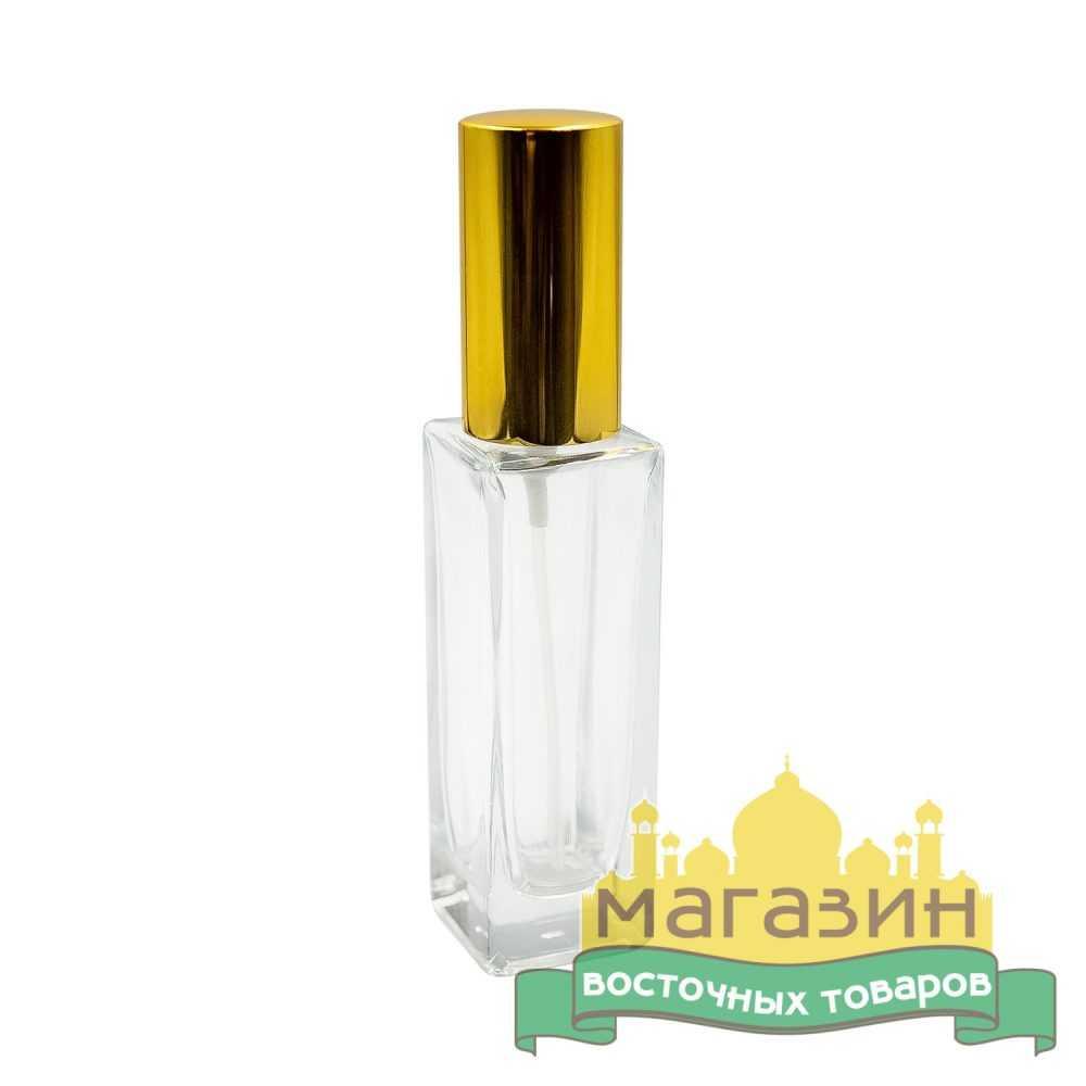 Спрей для жидкости стеклянный (30мл) золото