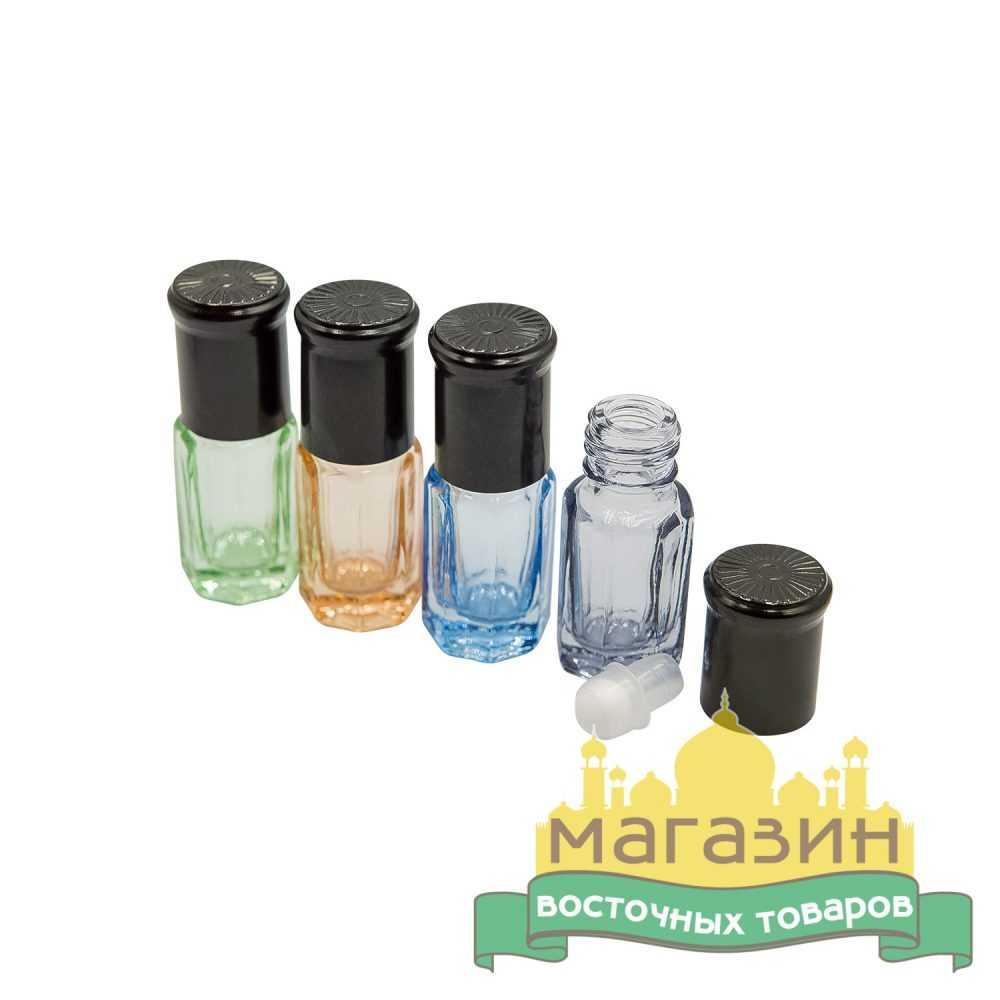 Тара для духов стеклянная (3мл)