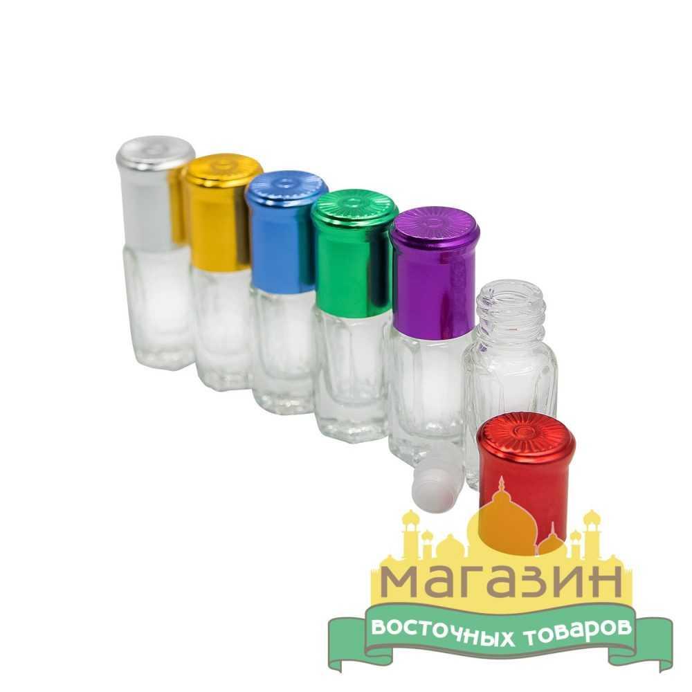 Флакон-роллер стеклянный (3мл) для парфюмерии