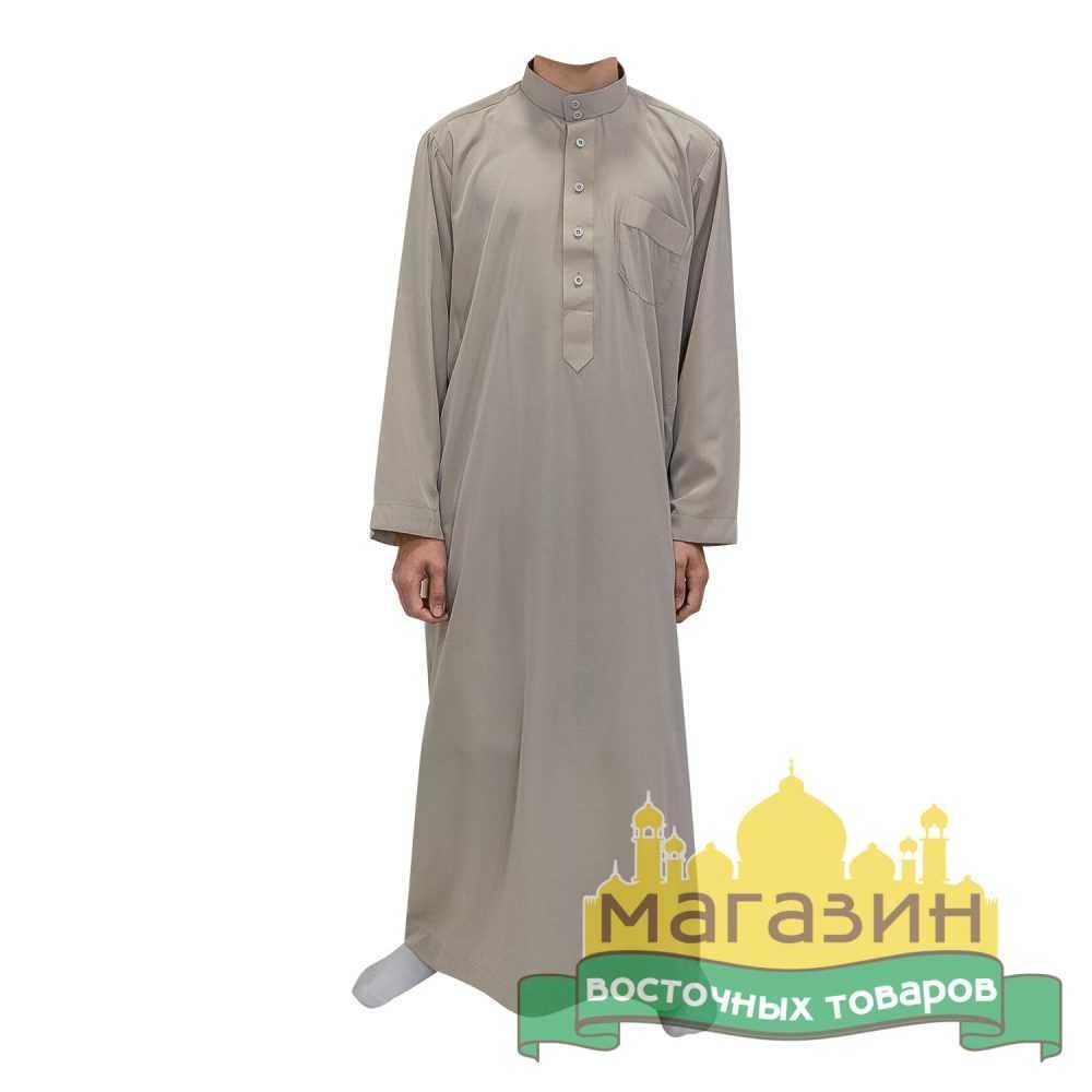 Длинная рубаха для молитвы (бежевая)
