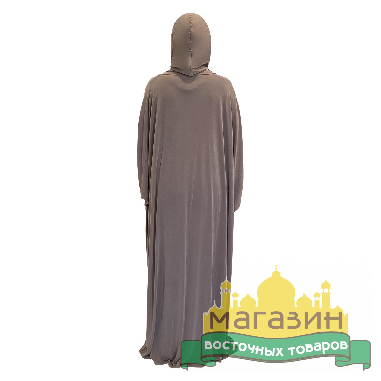 Платье-комплект для намаза (бежевое)