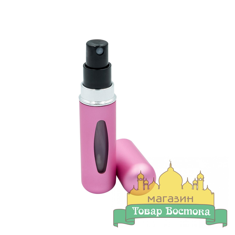 Флакон атомайзер для парфюма (5мл) розовый