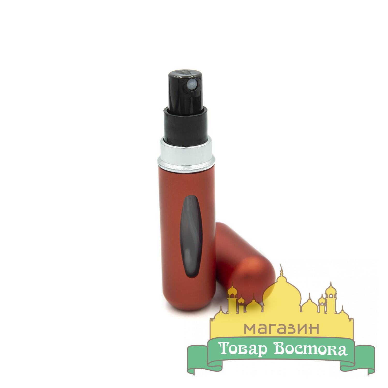 Флакон с пульверизатором, атомайзер (5мл) красный